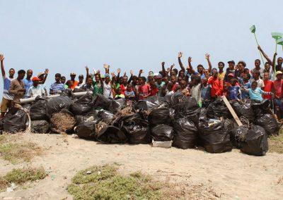 FMB Beach clean