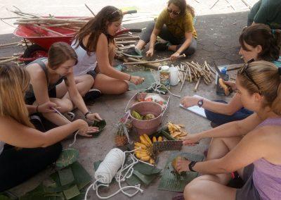 FNPF friends of the national parks Volunteer making enrichment wildlife conservation