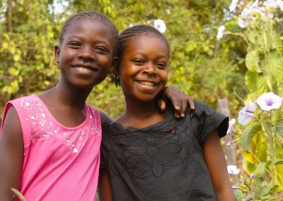 two children smiling overflow spring of hope