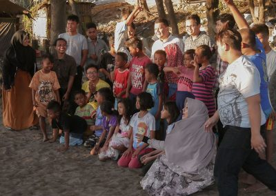 event at garduaction Indonesia children education