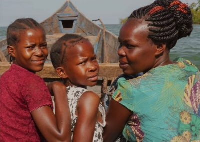 Founder family Florence with children overflow spring of hope