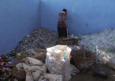 garduaction waste bank recycling Indonesia