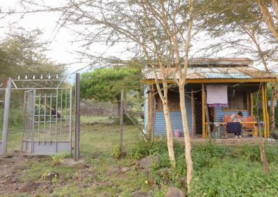 Volunteer accomodation from outside overflow spring of hope
