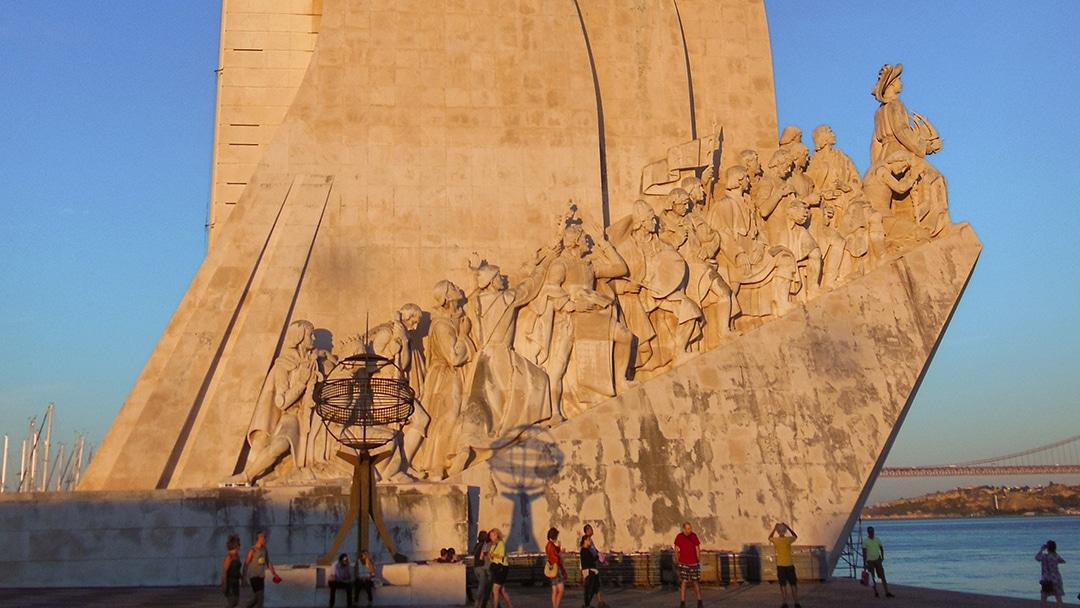 Lissabon Denkmal Seefahrer Kolonie Portugal
