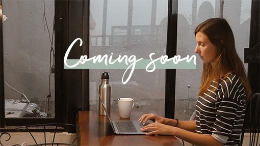 coming soon Kathrin give & grow in an office