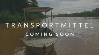 Transportmittel nachhaltig reisen coming soon boot Hintergrund