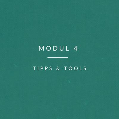 Kultur-Modul-4 tipps & tools