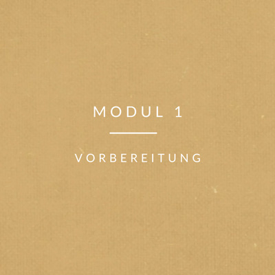 Transport-Modul-1 Vorbereitung