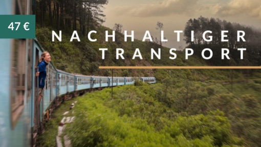 nachhaltiger transport Kurs banner