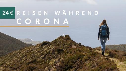 reisen während corona banner