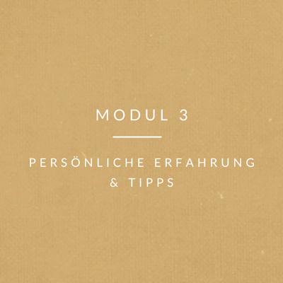 rueckkehr-Modul 3 persönliche Erfahrung und tipps