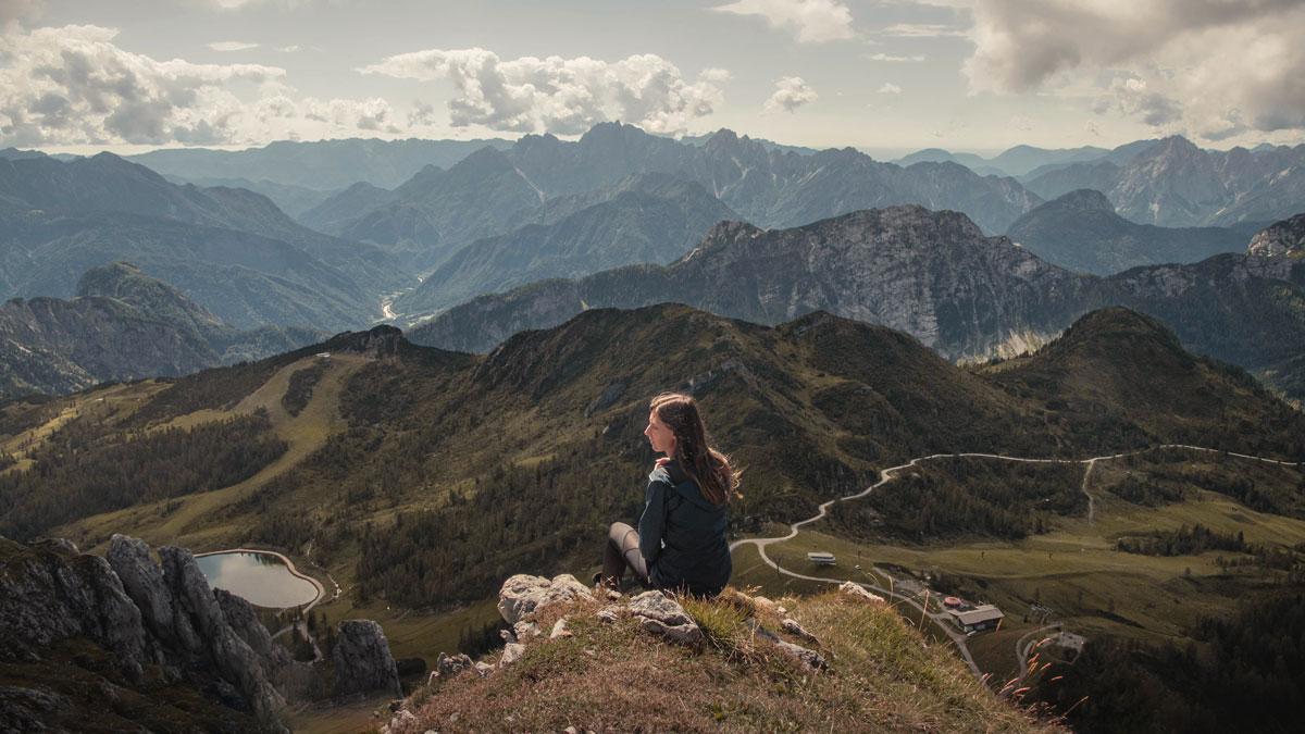 Reisen-Natur-Frau Panorama